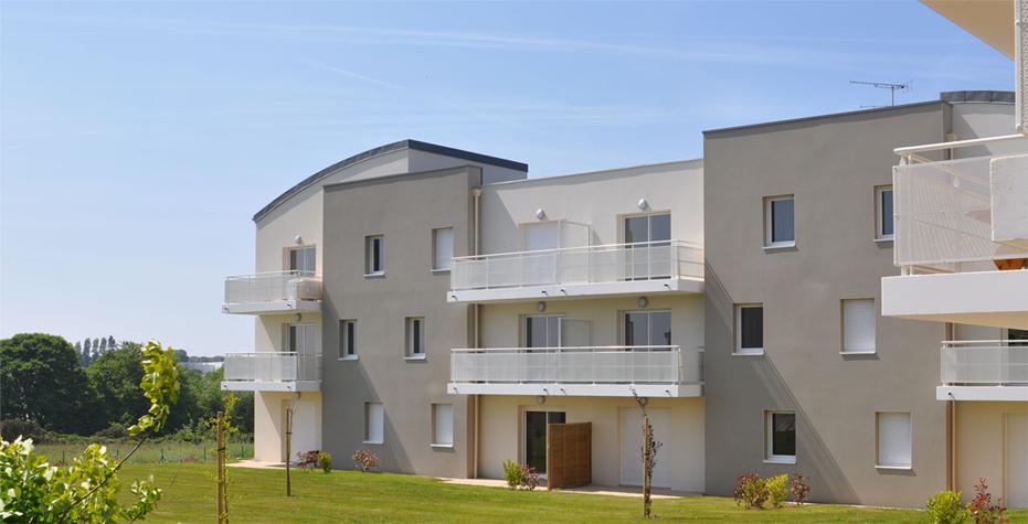 2007 lannion 33 logements le rusquet fauquert architectes. Black Bedroom Furniture Sets. Home Design Ideas