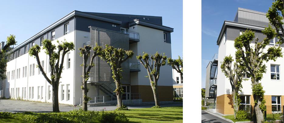 2007 lannion ehpad fauquert architectes. Black Bedroom Furniture Sets. Home Design Ideas